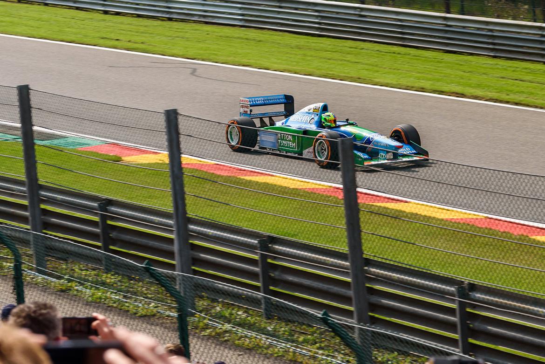 Mick Schumacher - Benetton Ford - Spa 2018 (Foto: Erik Jacobs, CC BY 2.0)