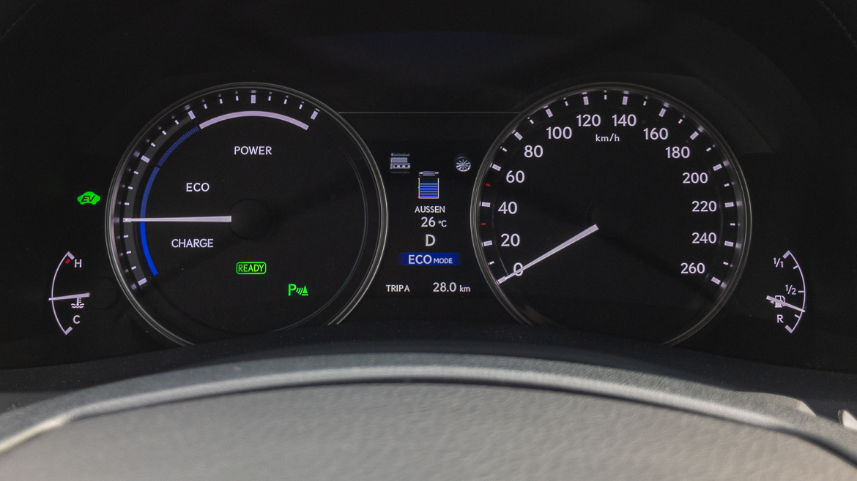 Lexus GS 450h F Sport - Hybrid Fahrmodus Eco