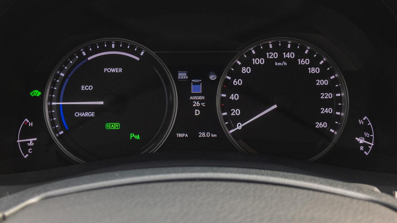 Lexus GS 450h F Sport - Hybrid Fahrmodus Normal