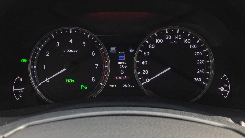 Lexus GS 450h F Sport - Hybrid Fahrmodus Sport