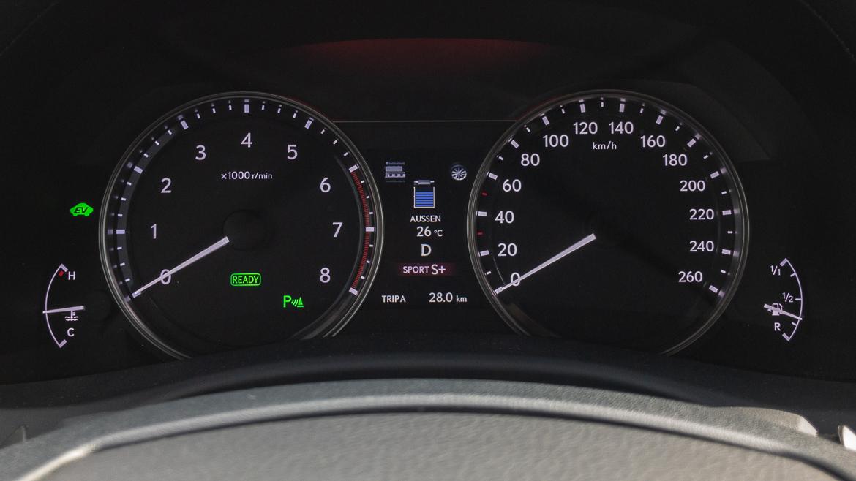 Lexus GS 450h F Sport - Hybrid Fahrmodus Sport S+