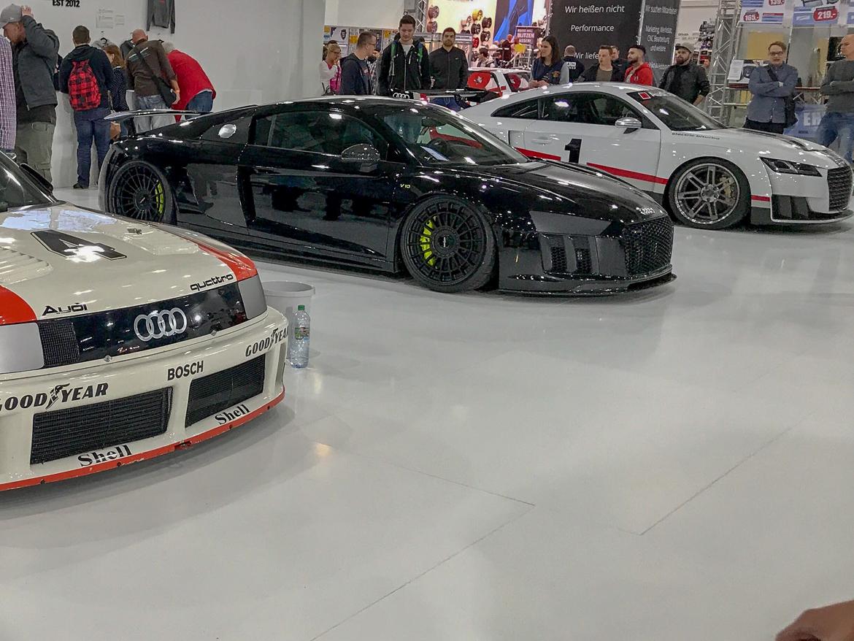 Audi R8 V10 von JP Performance auf der Essen Motor Show 2017