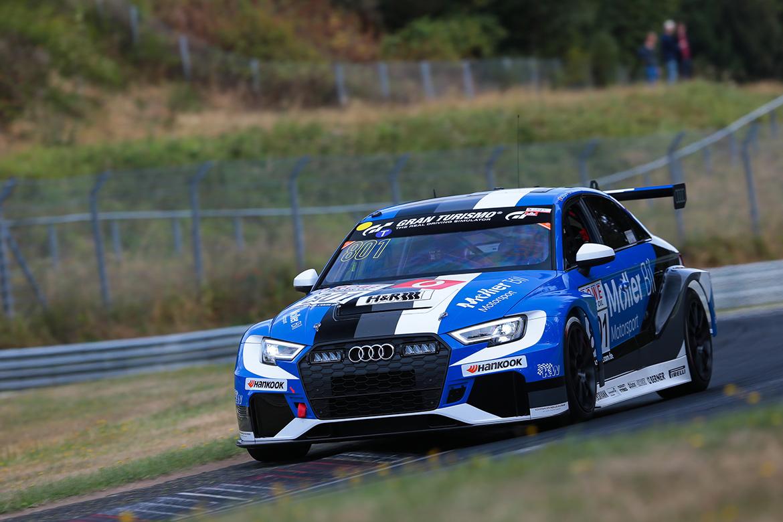 Audi RS3 LMS (TCR) - Møller Bil Motorsport - VLN6 2018 (Foto: VLN)