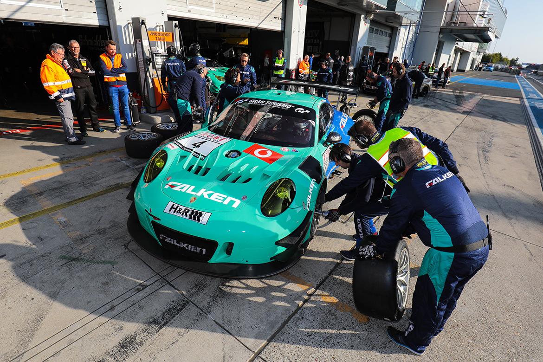 Porsche 991 GT3 R - Falken Motorsport - VLN6 2018 (Foto: VLN)