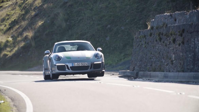 Chris Harris im Porsche 911 R (Youtube/Top Gear)