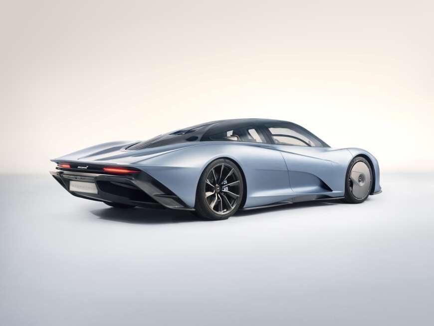Leaked: McLaren Speedtail