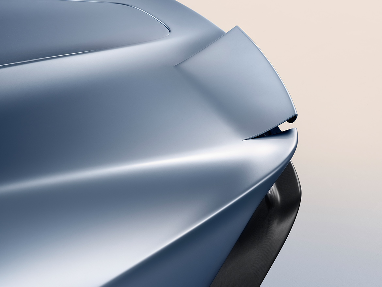 Querruder aus biegsamen Carbon - McLaren Speedtail (Foto: McLaren)
