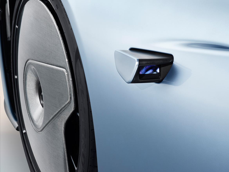 Rückfahrkameras statt Spiegel - McLaren Speedtail (Foto: McLaren)