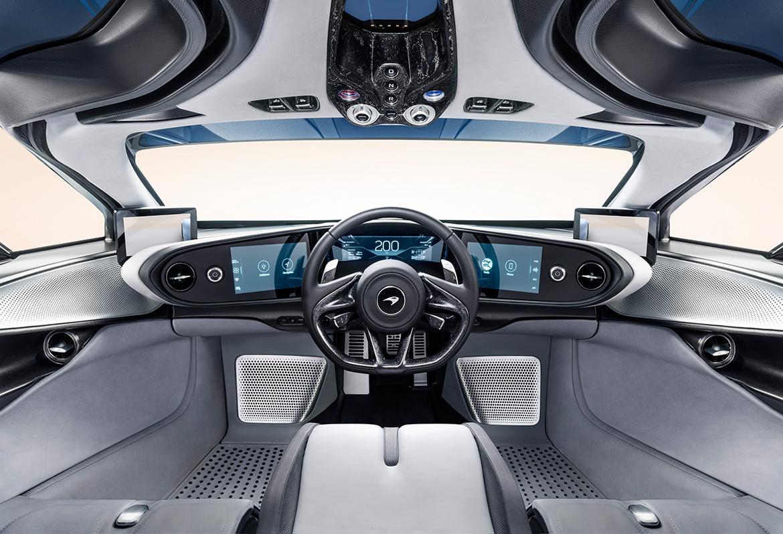 Cockpit des McLaren Speedtail (Foto: McLaren)