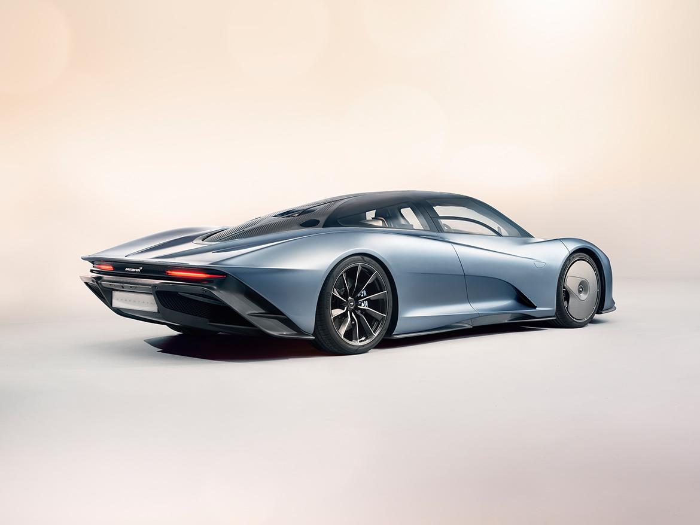 Aus dieser Perspektive gefällt mir der McLaren Speedtail nicht ganz so gut (Foto: McLaren)