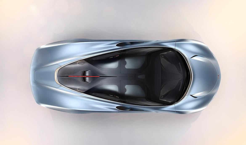 Aerodynamisch günstige Tropfenform des McLaren Speedtail (Foto: McLaren)