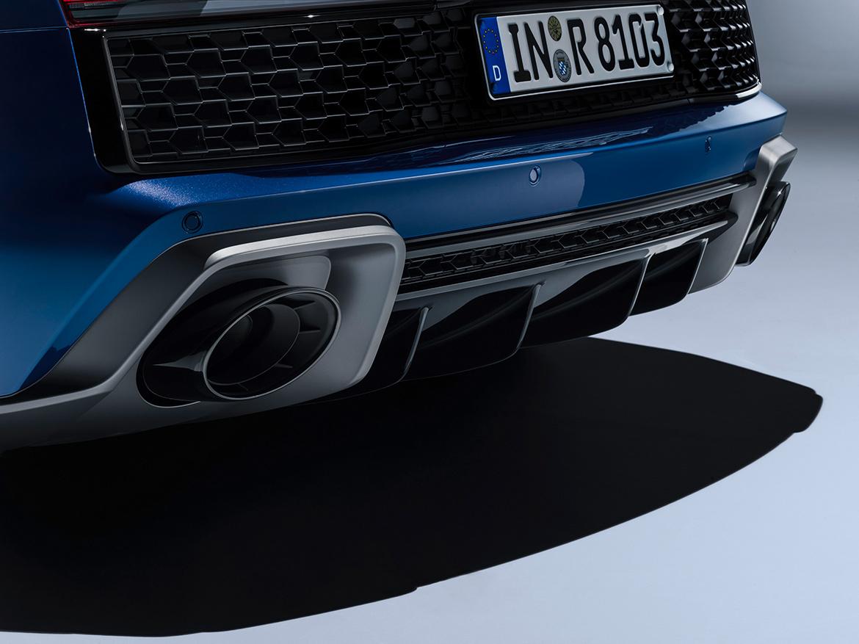 Heck des 2019 Audi R8 (Foto: Audi)