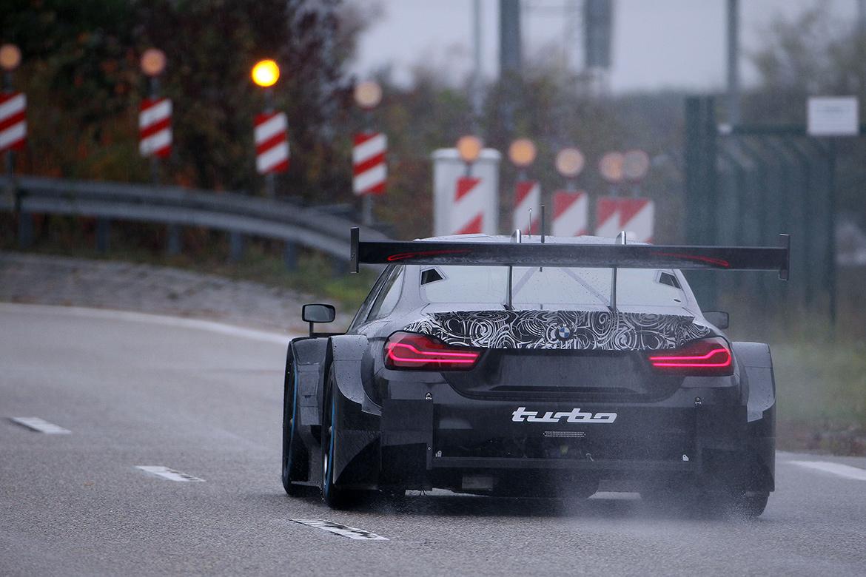 DTM: BMW testet den neuen 4-Zylinder Turbo