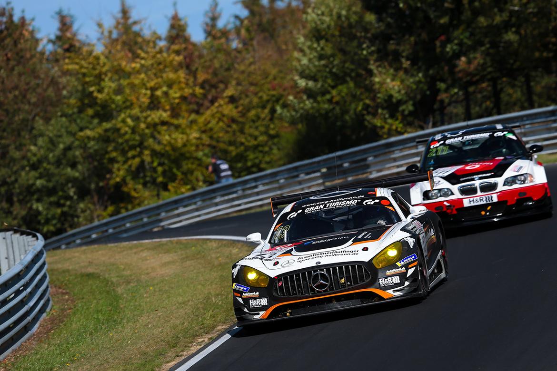 Auto Arena Motorsport Mercedes AMG GT3 - VLN8 2018 (Foto: VLN)
