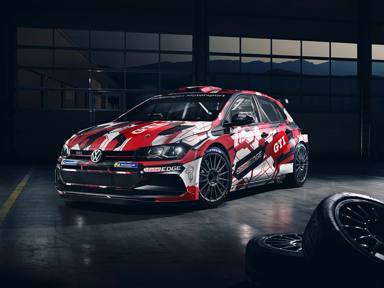 VW Polo R5 im offiziellen Werksdesign (Foto: Volkswagen)
