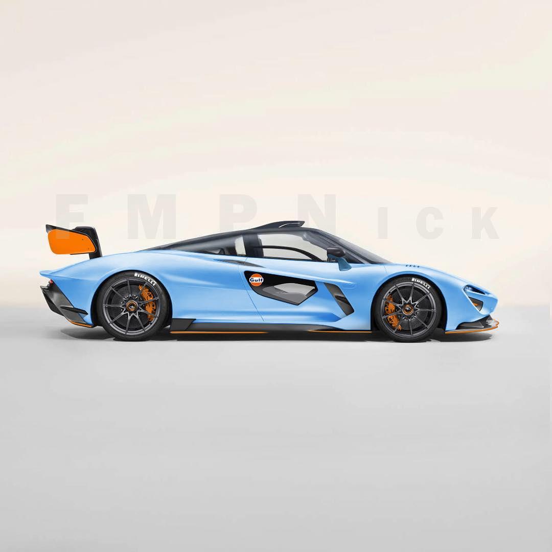 McLaren Speedtail MSO (Instagram/fmpnick)
