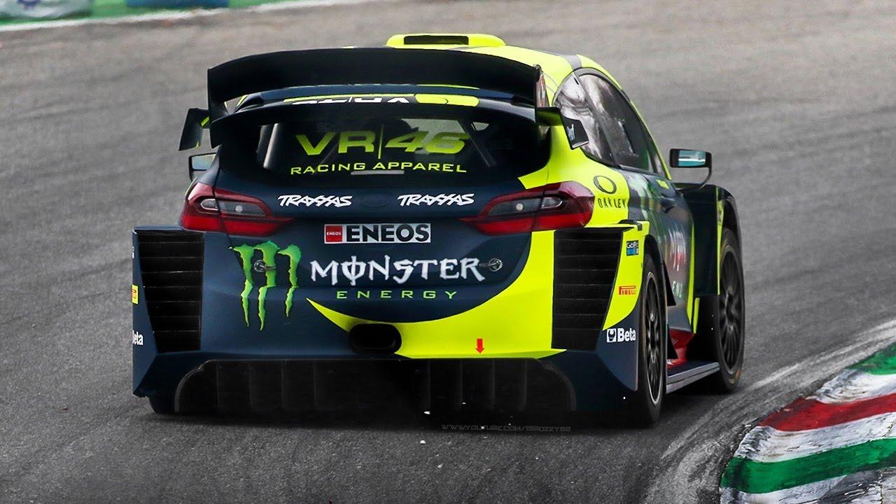 Valentino Rossi - Ford Fiesta WRC Evo - Monza Rally Show 2018 (Foto: YouTube/19BOZZY92)