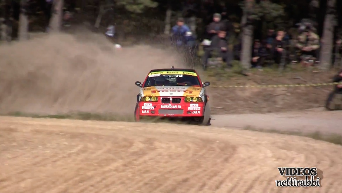 BMW E36 M3 Rallycar (Youtube/Videos Nettirabbi)