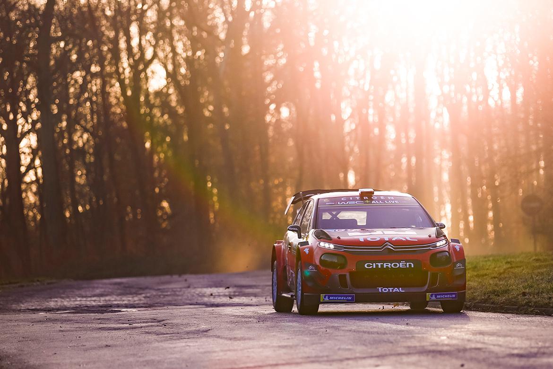 Citroen C3 WRC 2019 (Foto: Citroen)
