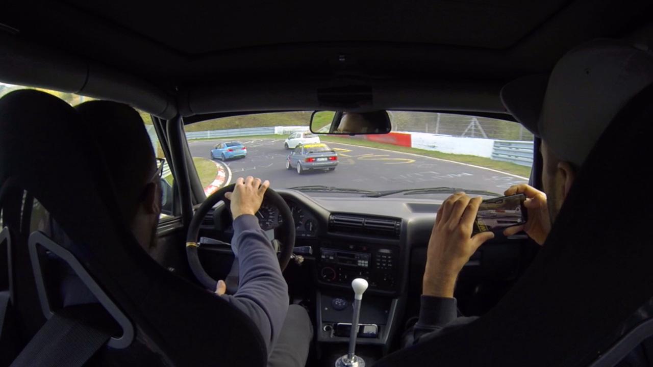 2x BMW E30 auf der Nordschleife