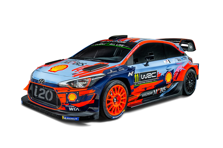 Hyundai i20 WRC 2019 (Foto: Red Bull Content Pool)