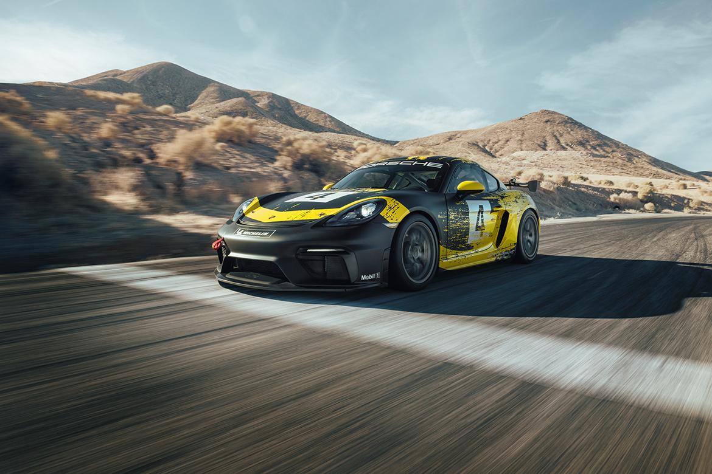 2019 Porsche 718 Cayman Clubsport (Foto: Porsche)
