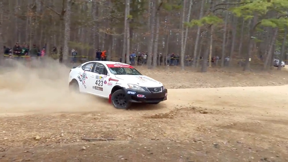 Lexus IS350 Rallycar (Youtube/Seal)