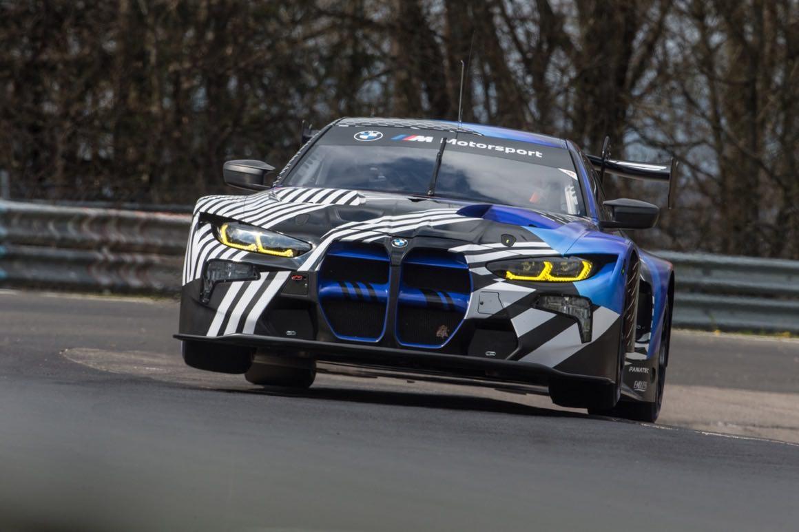 BMW M4 GT3 absolviert ersten Test auf der Nordschleife