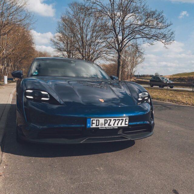 Probefahrt im Porsche Taycan
