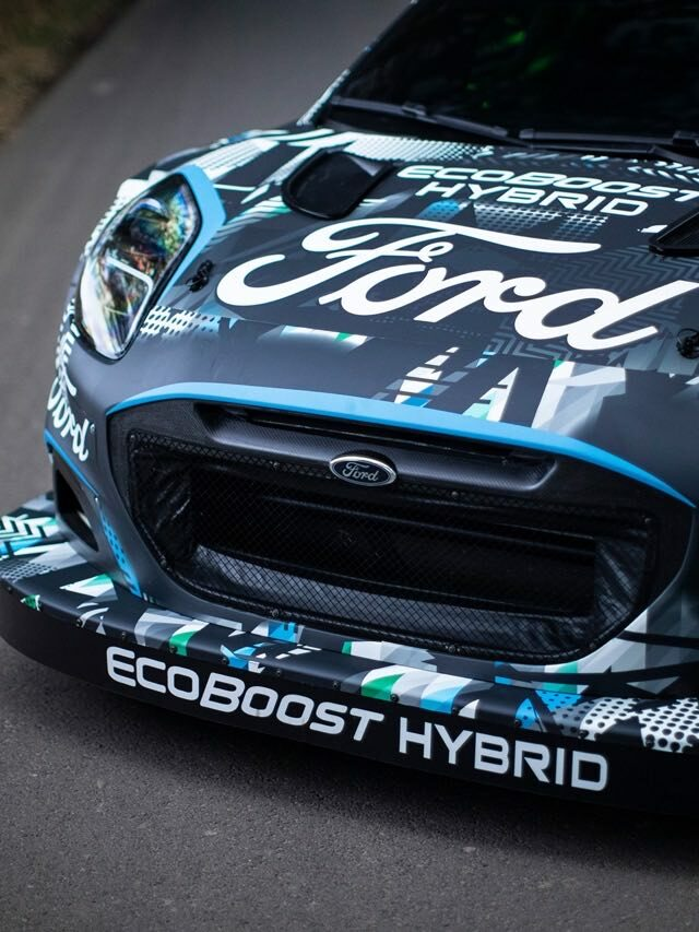Ford Puma Rally1 – Präsentation in Goodwood